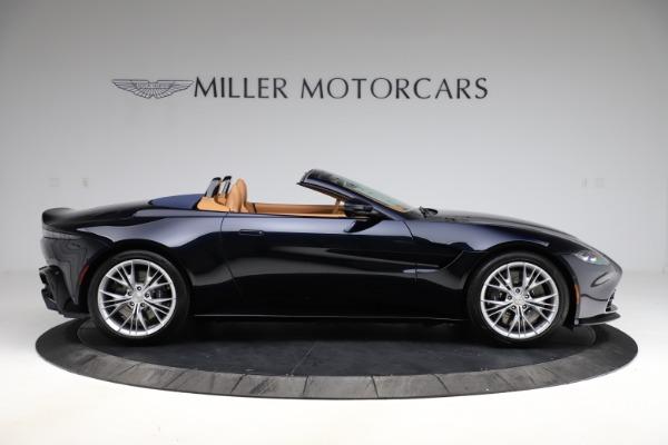 New 2021 Aston Martin Vantage Roadster Convertible for sale $205,686 at Bugatti of Greenwich in Greenwich CT 06830 8
