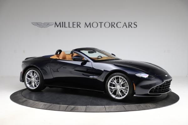 New 2021 Aston Martin Vantage Roadster Convertible for sale $205,686 at Bugatti of Greenwich in Greenwich CT 06830 9