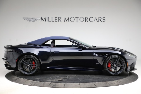 New 2021 Aston Martin DBS Superleggera Volante Convertible for sale $402,286 at Bugatti of Greenwich in Greenwich CT 06830 12