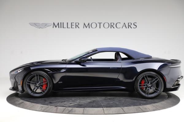 New 2021 Aston Martin DBS Superleggera Volante Convertible for sale $402,286 at Bugatti of Greenwich in Greenwich CT 06830 17