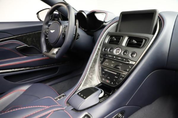 New 2021 Aston Martin DBS Superleggera Volante Convertible for sale $402,286 at Bugatti of Greenwich in Greenwich CT 06830 24