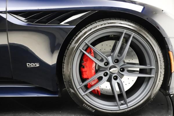 New 2021 Aston Martin DBS Superleggera Volante Convertible for sale $402,286 at Bugatti of Greenwich in Greenwich CT 06830 27