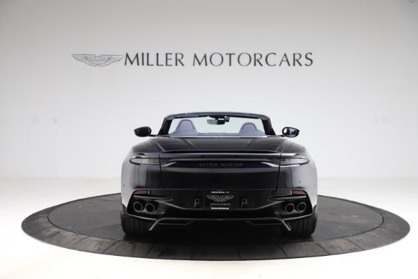 New 2021 Aston Martin DBS Superleggera Volante Convertible for sale $402,286 at Bugatti of Greenwich in Greenwich CT 06830 5