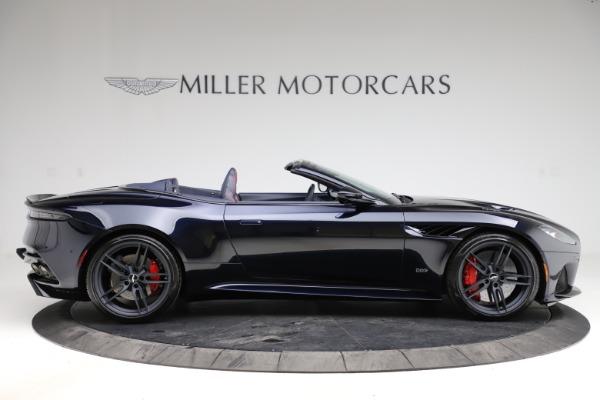 New 2021 Aston Martin DBS Superleggera Volante Convertible for sale $402,286 at Bugatti of Greenwich in Greenwich CT 06830 8