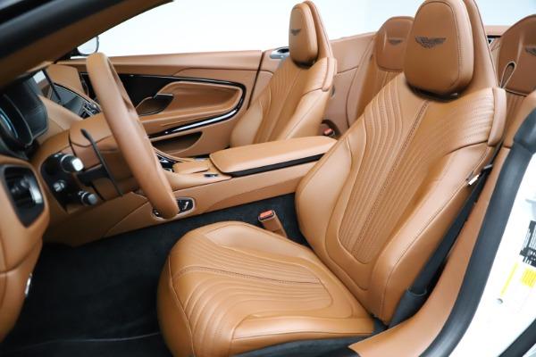 New 2021 Aston Martin DB11 Volante for sale $269,486 at Bugatti of Greenwich in Greenwich CT 06830 21