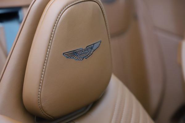 New 2021 Aston Martin DB11 Volante for sale $269,486 at Bugatti of Greenwich in Greenwich CT 06830 26