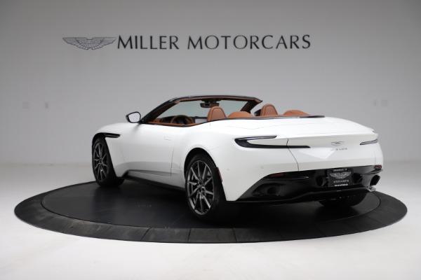 New 2021 Aston Martin DB11 Volante for sale $269,486 at Bugatti of Greenwich in Greenwich CT 06830 4