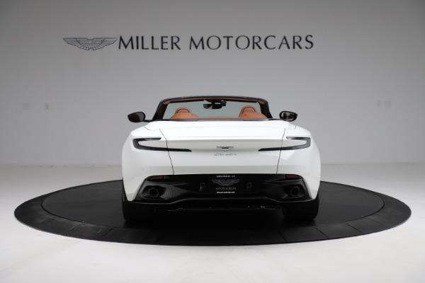 New 2021 Aston Martin DB11 Volante for sale $269,486 at Bugatti of Greenwich in Greenwich CT 06830 5