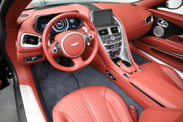 New 2021 Aston Martin DB11 Volante Convertible for sale $261,486 at Bugatti of Greenwich in Greenwich CT 06830 13