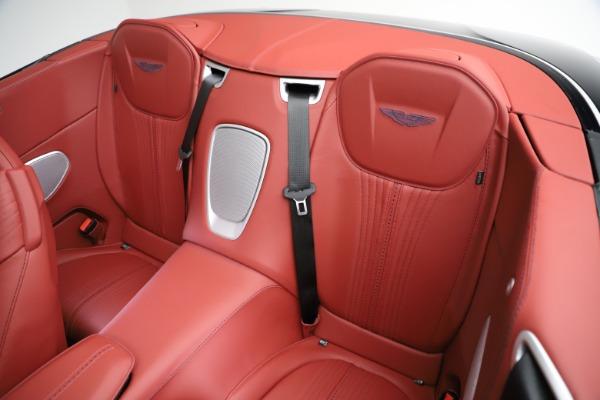 New 2021 Aston Martin DB11 Volante Convertible for sale $261,486 at Bugatti of Greenwich in Greenwich CT 06830 19