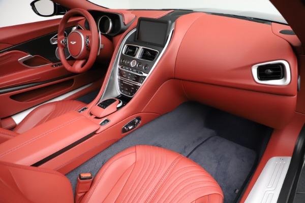 New 2021 Aston Martin DB11 Volante Convertible for sale $261,486 at Bugatti of Greenwich in Greenwich CT 06830 20