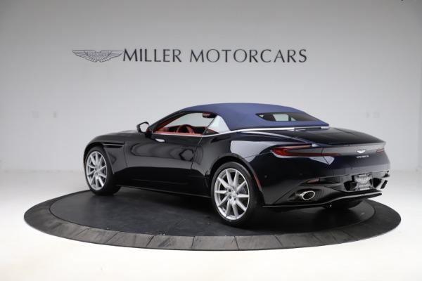 New 2021 Aston Martin DB11 Volante Convertible for sale $261,486 at Bugatti of Greenwich in Greenwich CT 06830 27