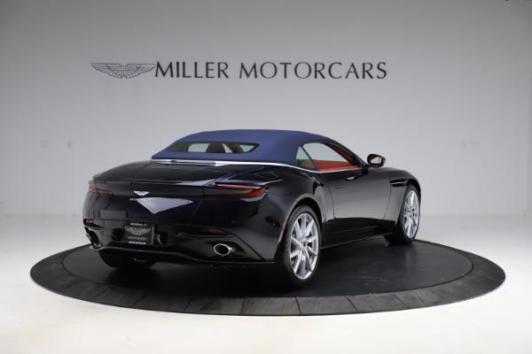 New 2021 Aston Martin DB11 Volante Convertible for sale $261,486 at Bugatti of Greenwich in Greenwich CT 06830 28