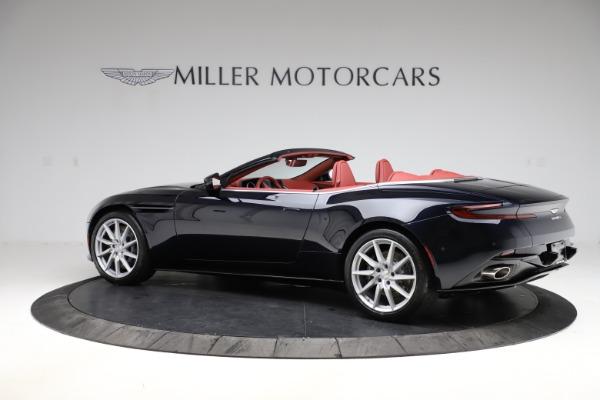 New 2021 Aston Martin DB11 Volante Convertible for sale $261,486 at Bugatti of Greenwich in Greenwich CT 06830 3