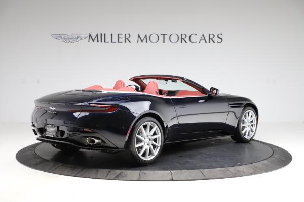New 2021 Aston Martin DB11 Volante Convertible for sale $261,486 at Bugatti of Greenwich in Greenwich CT 06830 7