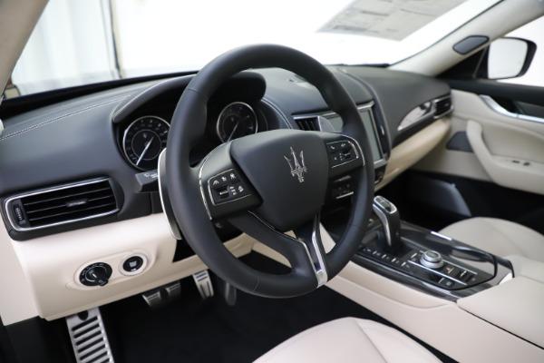 New 2021 Maserati Levante S Q4 GranLusso for sale Sold at Bugatti of Greenwich in Greenwich CT 06830 16