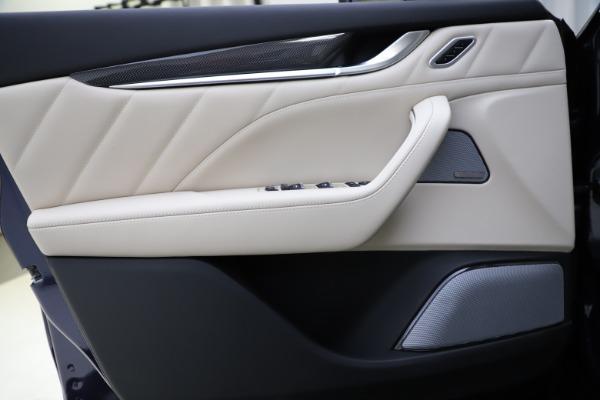 New 2021 Maserati Levante S Q4 GranLusso for sale Sold at Bugatti of Greenwich in Greenwich CT 06830 17
