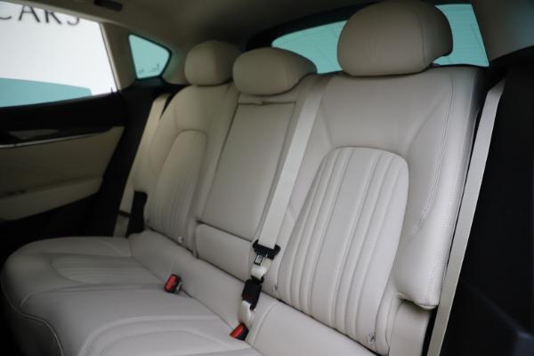 New 2021 Maserati Levante S Q4 GranLusso for sale Sold at Bugatti of Greenwich in Greenwich CT 06830 20