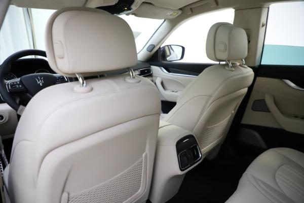 New 2021 Maserati Levante S Q4 GranLusso for sale Sold at Bugatti of Greenwich in Greenwich CT 06830 22