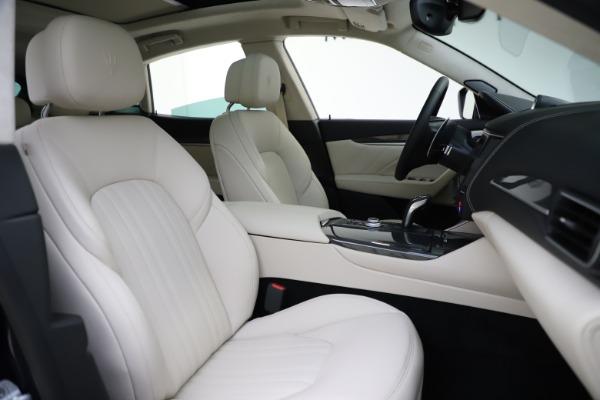 New 2021 Maserati Levante S Q4 GranLusso for sale Sold at Bugatti of Greenwich in Greenwich CT 06830 23
