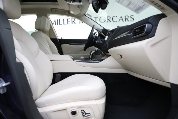 New 2021 Maserati Levante S Q4 GranLusso for sale Sold at Bugatti of Greenwich in Greenwich CT 06830 24
