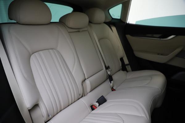 New 2021 Maserati Levante S Q4 GranLusso for sale Sold at Bugatti of Greenwich in Greenwich CT 06830 26