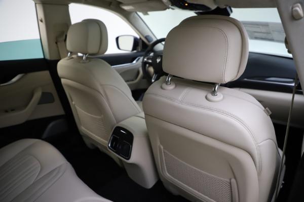 New 2021 Maserati Levante S Q4 GranLusso for sale Sold at Bugatti of Greenwich in Greenwich CT 06830 28