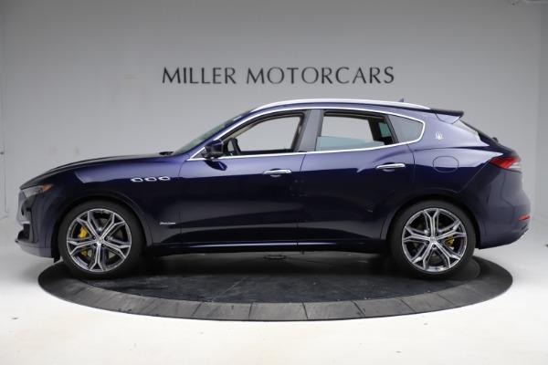 New 2021 Maserati Levante S Q4 GranLusso for sale Sold at Bugatti of Greenwich in Greenwich CT 06830 3