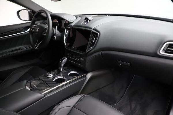 New 2021 Maserati Ghibli S Q4 GranSport for sale $98,125 at Bugatti of Greenwich in Greenwich CT 06830 22