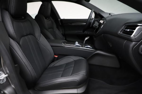 New 2021 Maserati Ghibli S Q4 GranSport for sale $98,125 at Bugatti of Greenwich in Greenwich CT 06830 23