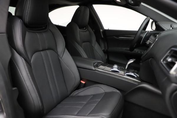 New 2021 Maserati Ghibli S Q4 GranSport for sale $98,125 at Bugatti of Greenwich in Greenwich CT 06830 24