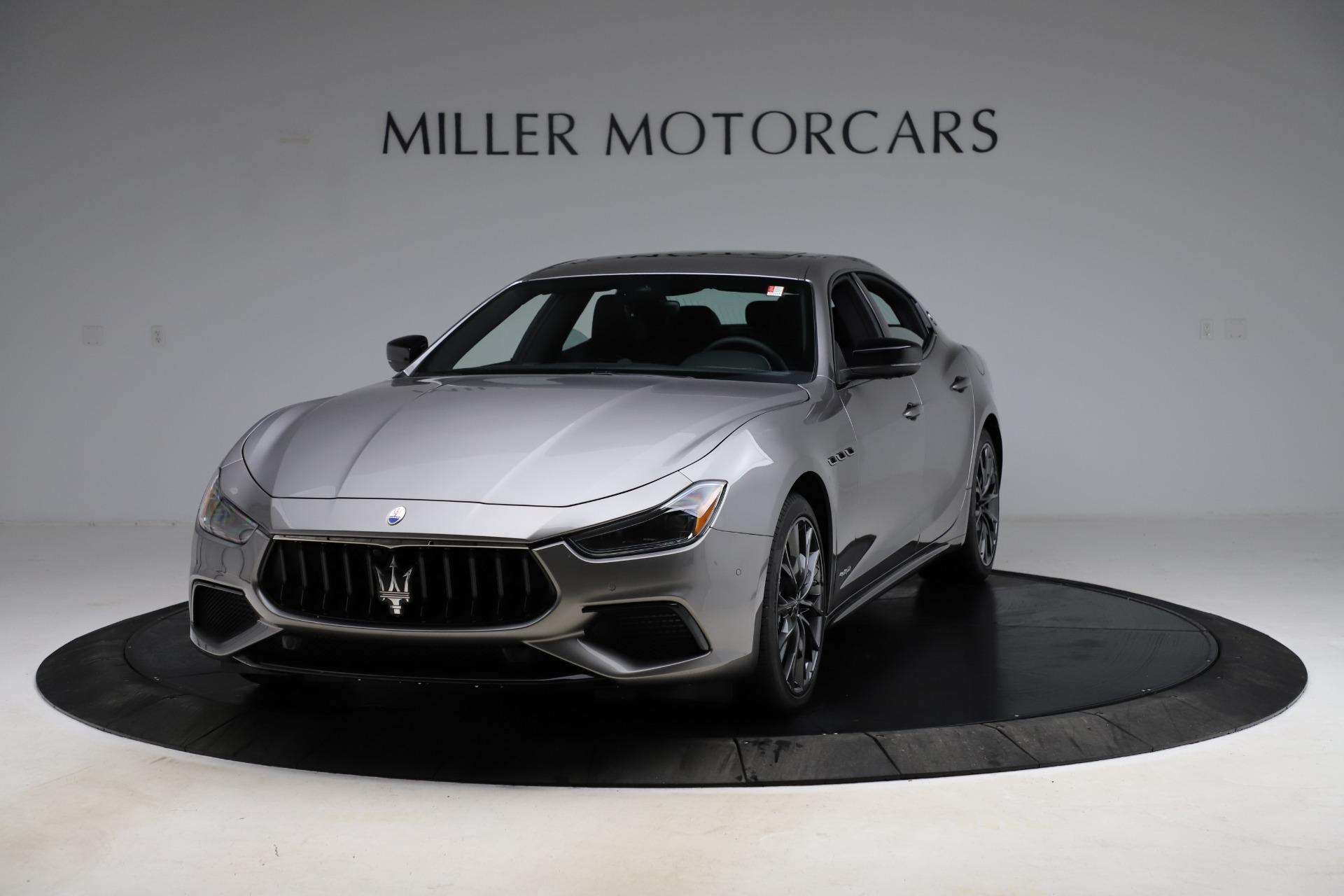 New 2021 Maserati Ghibli S Q4 GranSport for sale $98,125 at Bugatti of Greenwich in Greenwich CT 06830 1