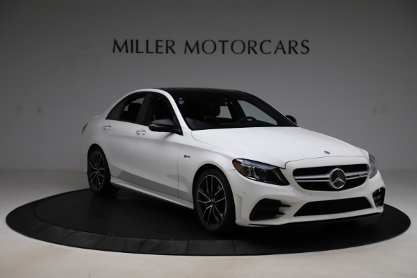 Used 2019 Mercedes-Benz C-Class AMG C 43 for sale Call for price at Bugatti of Greenwich in Greenwich CT 06830 12