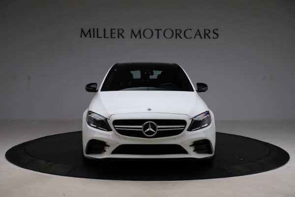Used 2019 Mercedes-Benz C-Class AMG C 43 for sale Call for price at Bugatti of Greenwich in Greenwich CT 06830 13