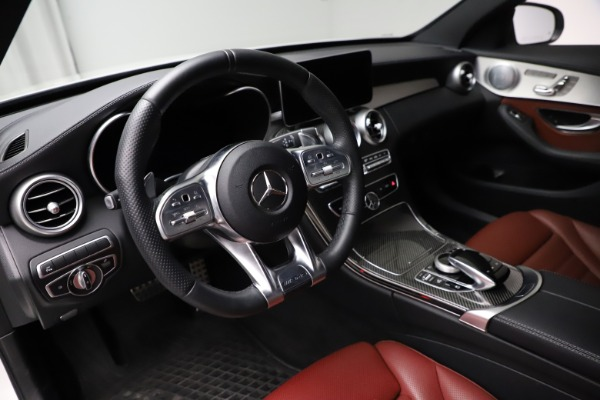 Used 2019 Mercedes-Benz C-Class AMG C 43 for sale Call for price at Bugatti of Greenwich in Greenwich CT 06830 14