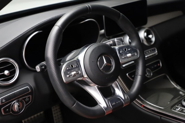 Used 2019 Mercedes-Benz C-Class AMG C 43 for sale Call for price at Bugatti of Greenwich in Greenwich CT 06830 17