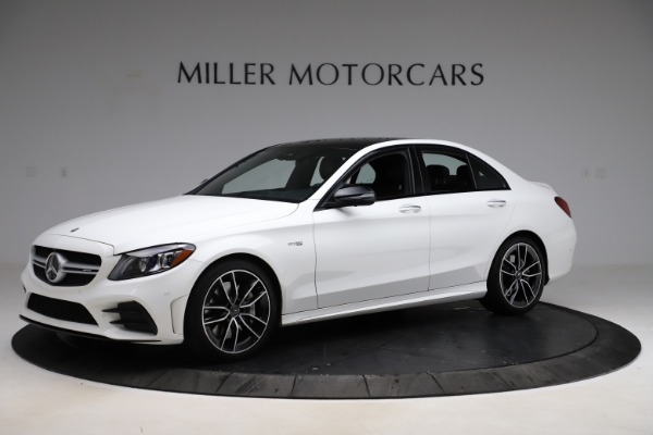 Used 2019 Mercedes-Benz C-Class AMG C 43 for sale Call for price at Bugatti of Greenwich in Greenwich CT 06830 2