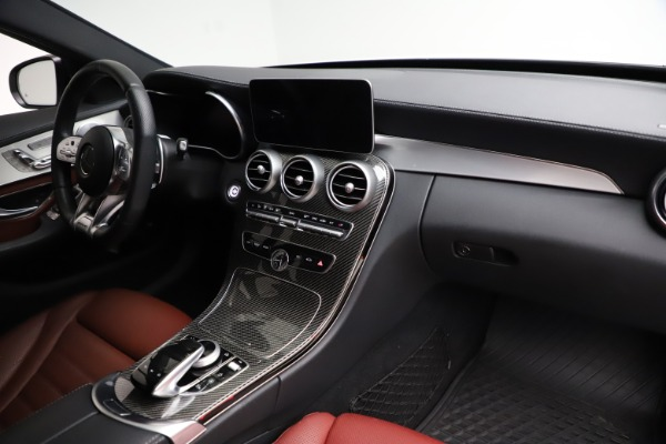 Used 2019 Mercedes-Benz C-Class AMG C 43 for sale Call for price at Bugatti of Greenwich in Greenwich CT 06830 22