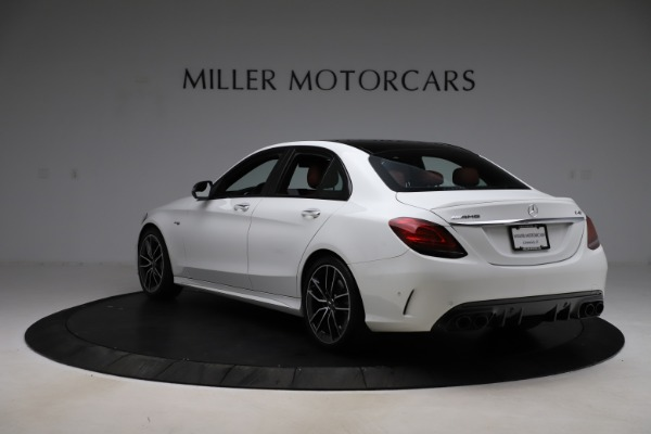 Used 2019 Mercedes-Benz C-Class AMG C 43 for sale Call for price at Bugatti of Greenwich in Greenwich CT 06830 6