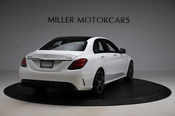 Used 2019 Mercedes-Benz C-Class AMG C 43 for sale Call for price at Bugatti of Greenwich in Greenwich CT 06830 8