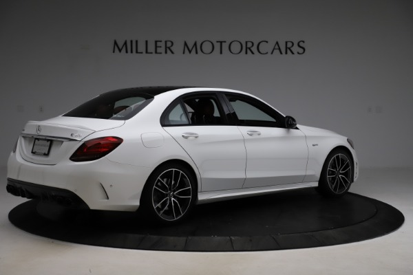 Used 2019 Mercedes-Benz C-Class AMG C 43 for sale Call for price at Bugatti of Greenwich in Greenwich CT 06830 9