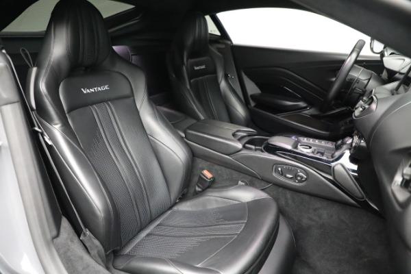 Used 2019 Aston Martin Vantage for sale $129,900 at Bugatti of Greenwich in Greenwich CT 06830 18