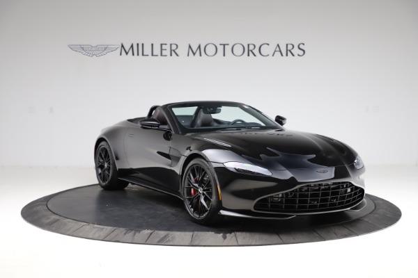 New 2021 Aston Martin Vantage Roadster Convertible for sale $189,186 at Bugatti of Greenwich in Greenwich CT 06830 10