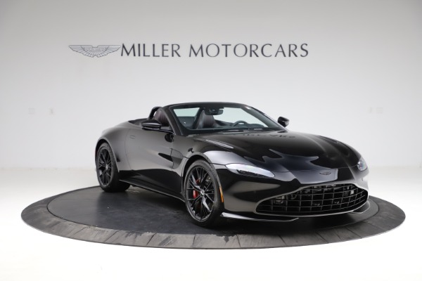 New 2021 Aston Martin Vantage Roadster for sale $189,186 at Bugatti of Greenwich in Greenwich CT 06830 10