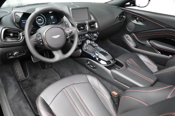 New 2021 Aston Martin Vantage Roadster Convertible for sale $189,186 at Bugatti of Greenwich in Greenwich CT 06830 13