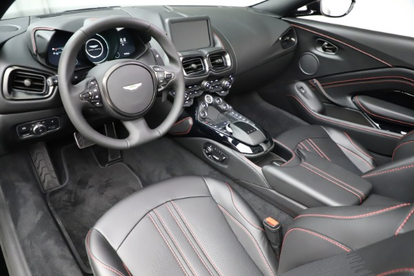 New 2021 Aston Martin Vantage Roadster for sale $189,186 at Bugatti of Greenwich in Greenwich CT 06830 13