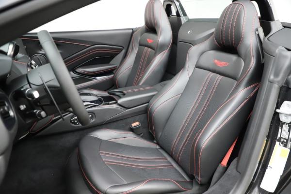 New 2021 Aston Martin Vantage Roadster Convertible for sale $189,186 at Bugatti of Greenwich in Greenwich CT 06830 15