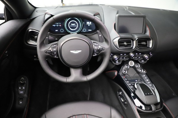 New 2021 Aston Martin Vantage Roadster for sale $189,186 at Bugatti of Greenwich in Greenwich CT 06830 17