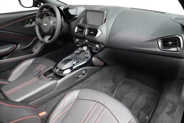 New 2021 Aston Martin Vantage Roadster Convertible for sale $189,186 at Bugatti of Greenwich in Greenwich CT 06830 18