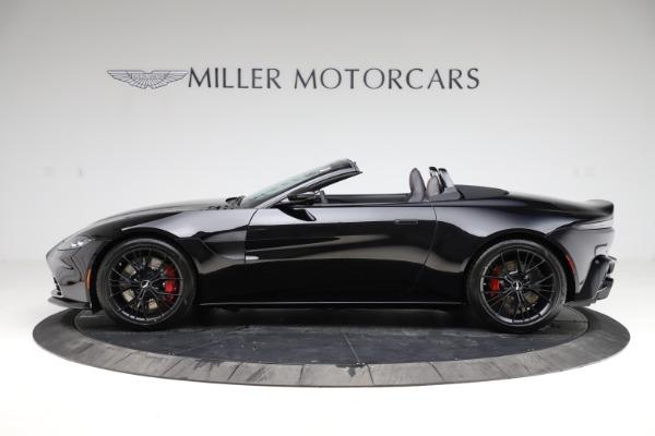 New 2021 Aston Martin Vantage Roadster Convertible for sale $189,186 at Bugatti of Greenwich in Greenwich CT 06830 2